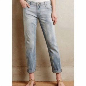 Pilcro Hyphen Bleached/Cosmic Dust Cropped Jeans